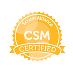 Certified Scrum Master logo